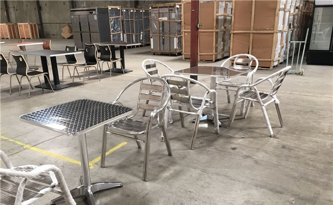 24*24 one table and two chairs