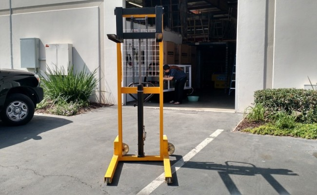 Fork Lift Foot : Forklift small foot