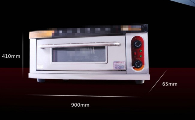 Commercial Electric Pizza Oven Making Bread Cake EO1