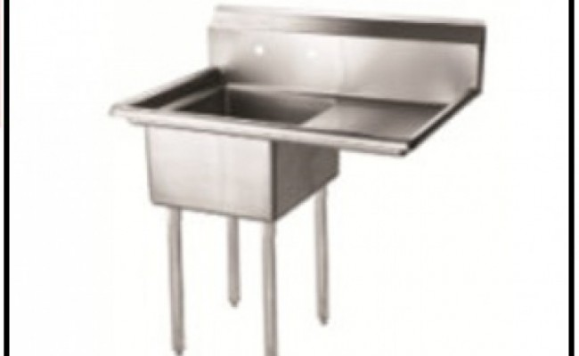 18 ins right one compartment sink  NSF