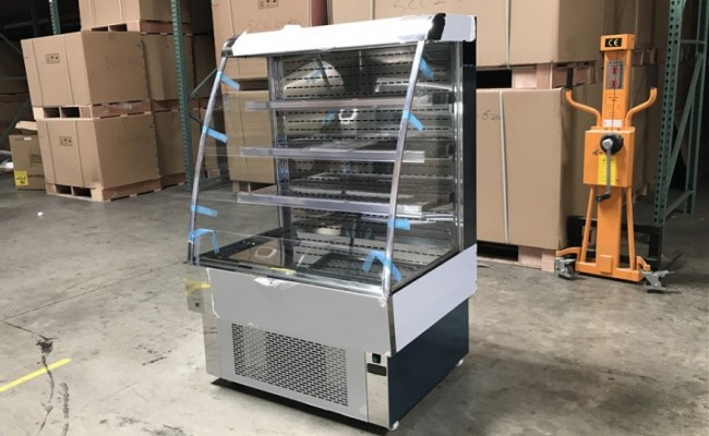NSF 40 ins open refrigerator display RTS-380