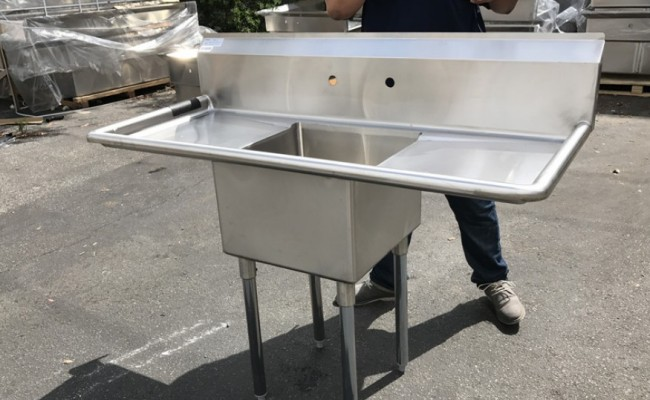 54 ins one compartment sink  NSF C1T181812-18LR