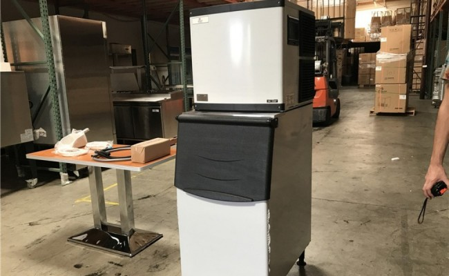 NSF 350 lb Commercial ice maker machine SK-350P
