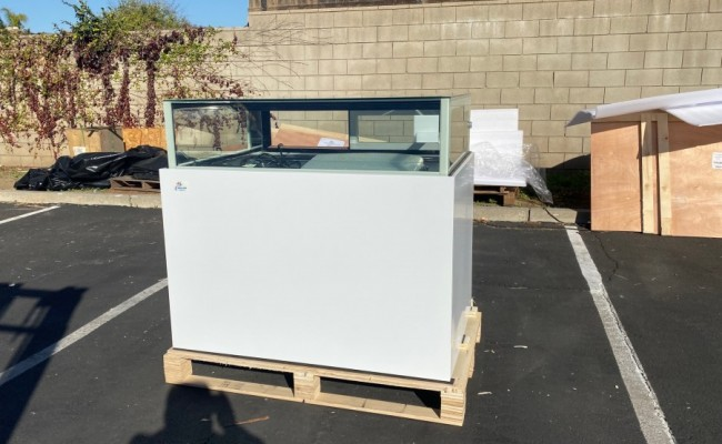 NSF 48 ins luxurious bakery refrigerator case DR-4F