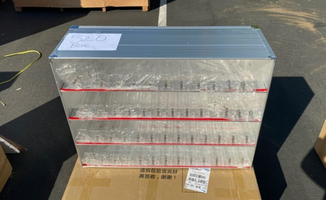 Cigarette Tobacco Rack 520 boxs