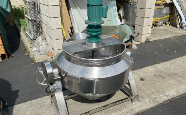 100L cook Jacketed steam mixer kettle CMK100