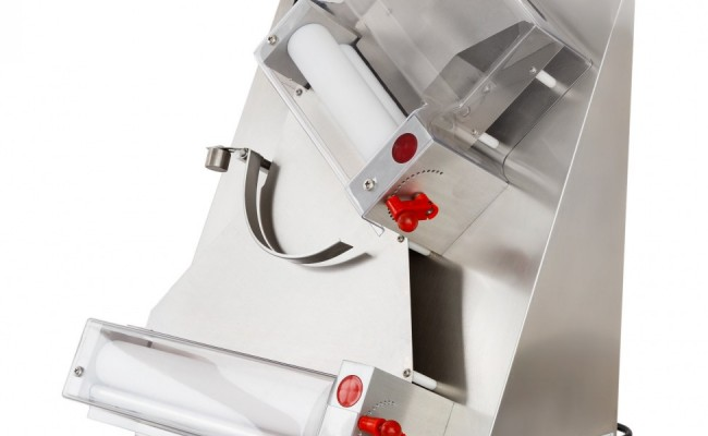 NSF Two Stage Pizza Dough 12ins Sheeter Double Roller DR-2A