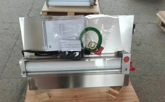 One Stage Pizza Dough 12ins Sheeter Double Roller NSF DR-2S