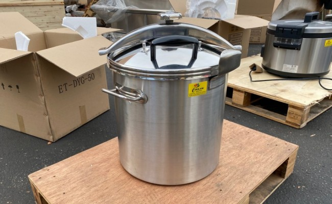 50 qt Quick Pot Stainless Steel Commercial Pressure Cooker DYG50