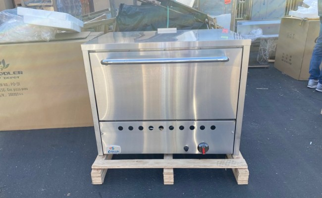 Natural Gas Pizza Deck Oven Single NSF 36ins PO31