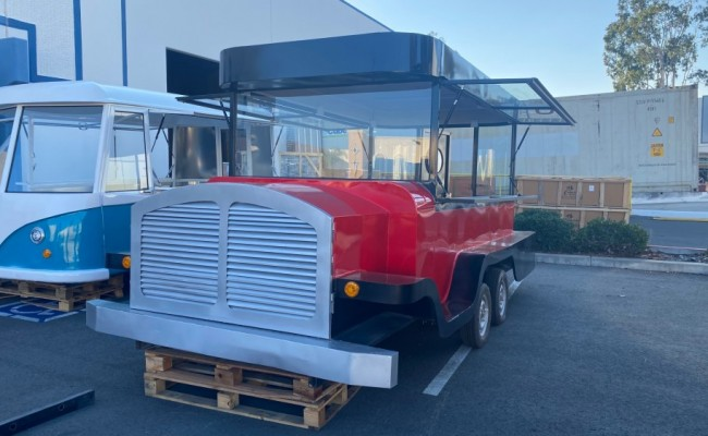 Food Vending Trailer Mobile Concession Event Catering FT4