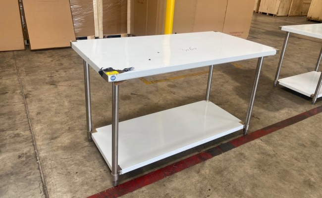 All Stainless Steel Table NSF 60W x 30D x34H inches