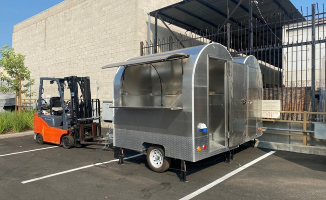 Food Vending Trailer Mobile Concession Event Catering FT26