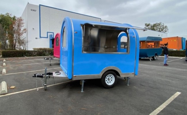 Food Vending Trailer width 80 inches FT21