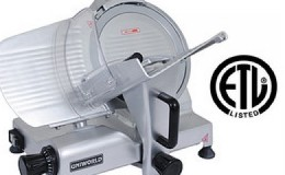 NSF 12 ins Commercial Blade Stainless Steel Meat Slicer HBS-300