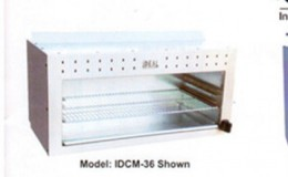NSF 48 ins gas cheese melter broiler made in USA