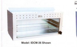 NSF 72 ins gas cheese melter broiler made in USA