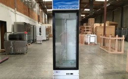 NSF One glass door refrigerator G398BMF