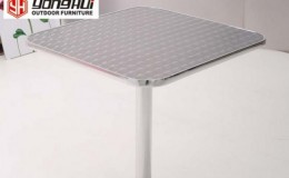 Stainless steel  outdoor table 30*30 ins