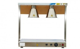 Two lights Warmer with Lights Countertop TP2