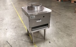 NSF 18ins one hole chinese wok range made in USA