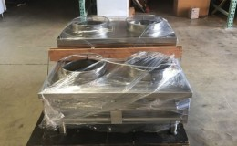 NSF 36ins double step up chinese wok range made in USA