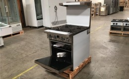 NSF 24 ins  gas oven range made in USA