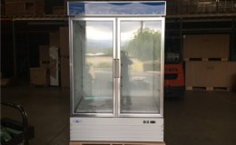 NSF Two glass door refrigerator G1.2BM2F wing