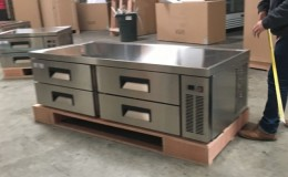 NSF Refrigerated 4 Drawers Chefs Base CB72