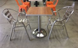 Restaurant Furniture Stainless Steel Chair SO1