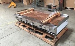 NSF 72 ins gas heavy duty griddle made in USA