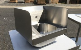 15  ins hand sink with two splashes NSF