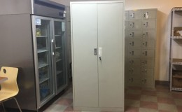Vertical 2 door file cabinet