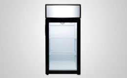NSF Commercial  Merchandising countertop refrigerator T80L
