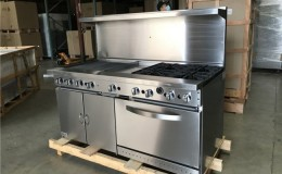 NSF 60 ins  gas oven range made in USA