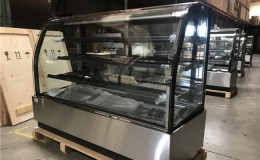Refrigerated bakery refrigerator case NSF 72 in CL-6F
