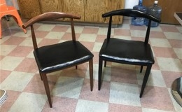 Restaurant Furniture metal Horn chair ME2