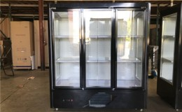 Three door Commercial Flower Cooler Floral refrigerator FC3