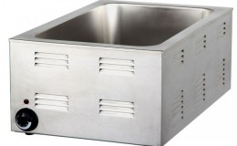 NSF Stainless Steel Full Size Electric Food Warmer 7700
