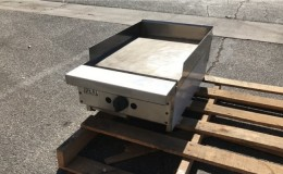 NSF 18 ins gas heavy duty griddle made in USA