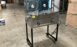 7 gallon Commercial Propane Deep Fryer   FY20