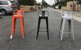Metal high chair TH10