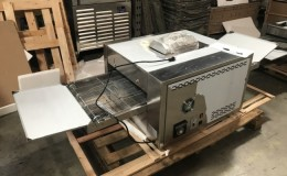 Gas Conveyor Pizza Baking Oven EC18