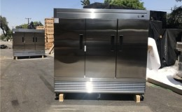 NSF Three door freezer 83F