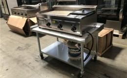 Outdoor Countertop food griddle G29F1