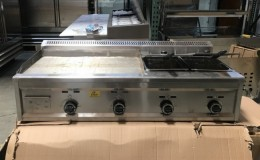 Outdoor Countertop food griddle G29F2