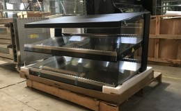 48 inch  Hot Food Warmer Display Case RTR-138D