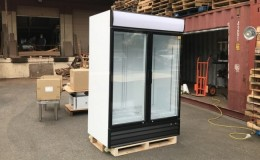 NSF 53 inch two glass door refrigerator CSD1400