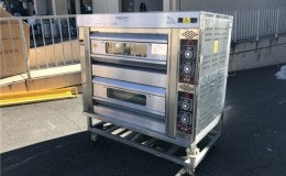 Gas double  Pizza Oven GS02