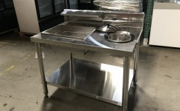 39 inches Giles BBT Breading Station  Fried Chicken OFC48